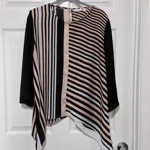 NY & Co Stripe Blouse